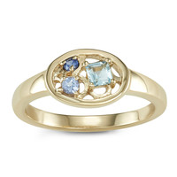 Colosseum Gold Ring