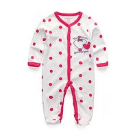 Kiddiezoom Baby Girl Clothes Bunny Similar Baby Boy Romper Newborn Clothing Long Sleeve Infant Product roupa infantil