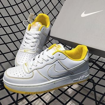 NIKE Air force 1 AF1 new men's and women's platform sneakers casual shoes