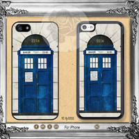 Doctor Who iPhone 5s case, iPhone 5C Case iPhone 5 case, iPhone 4 Case Baker 221B iPhone case Phone case ifg-00088