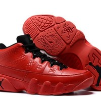 Nike Air Jordan 9 Retro Low Red Men Sport Shoe Size US 7-13-1