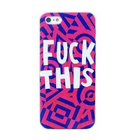 Fashion NEW Hybrid Mask Cool Punk Hard Back Skin Case Cover for IPhone4 4S 5 5S (WHD244-For iPhone4 4S, 6)