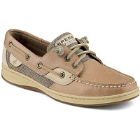 Women's Ivyfish Boat Shoe in Linen/Oat by Sperry