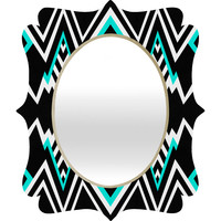 Elisabeth Fredriksson Wicked Valley Pattern 2 Quatrefoil Mirror