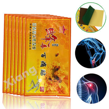 8Pcs Chinese medicines bee venom balm Joint pain patch pain killer body massager relax Neck back body massage relaxation H230X