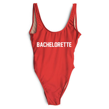Bachelorette One Piece Swimsuit