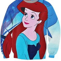 Princess Ariel Crewneck Sweatshirt
