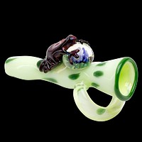 Empire Glassworks Fred The Frog Chillum