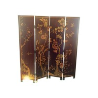 Pre-owned Chinoiserie Room Divider