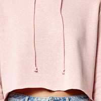 LA Hearts True Fleece Cropped Pullover Hoodie at PacSun.com
