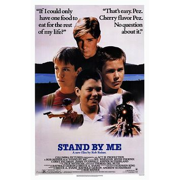 Stand by Me Poster//Stand by Me Movie Poster//Movie Poster//Poster Reprint