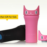 Lovely Cat Stainless Steel Vacuum Thermos Cup for Kids
