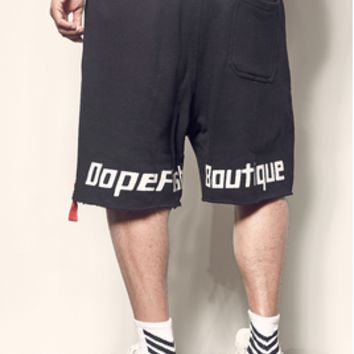 Summer Alphabet Printing Street Trend Loose Leisure Five-point Sports Shorts
