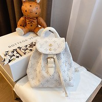 LV Louis Vuitton Women's Tote Bag Handbag Shopping Leather Tote Crossbody Satchel