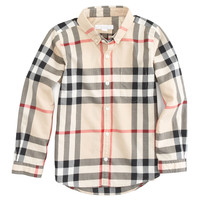 Long Sleeve Patch Pocket Check Shirt, Sizes