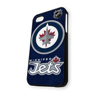 Winnipeg Jets Hockey NHL Logo iPhone 4/4S Case