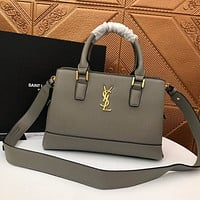 ysl women leather shoulder bags satchel tote bag handbag shopping leather tote crossbody 62