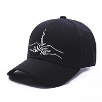 Embroidery Brand Baseball Cap Snapback Caps Sports Leisure Hats Fitted Casual Hats For Men Women