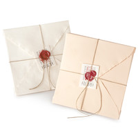 Arpa Handmade Note Set (6 x 6) in Eco Paper at Vickerey