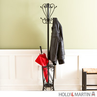 Holly & Martin Brighton Coat Rack and Umbrella Stand