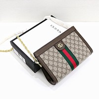 GUCCI Ophidia GG Chain bag Shoulder Bag