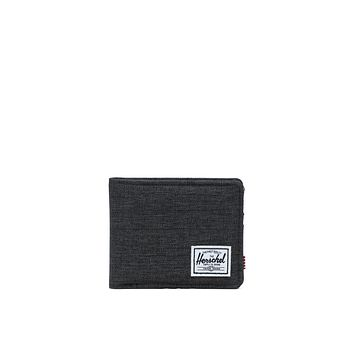 Herschel Supply Co. - Roy Black Crosshatch Wallet