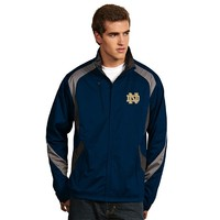 Antigua Notre Dame Fighting Irish Tempest Desert Dry Xtra-Lite Performance Jacket