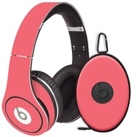 Coral Decal Skin for Beats Studio Headphones & Carrying Case by Dr. Dre