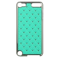 Dream Wireless Chrome Case for iPod touch 5 (Studded Diamond Teal)