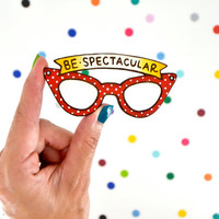 Be Spectacular Large Statement Brooch