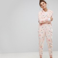Loungeable Cupcake Onesuit at asos.com
