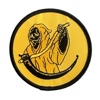 Have A Nice Life Smiley Reaper Patch
