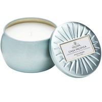 Petite Decorative Tin Candle Casa Pacifica