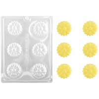 Daisy Cookie Coating Chocolate Mold