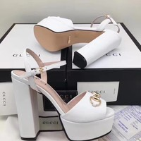 ❤shosouvenir❤GUCCI:Fashion princess high heels High-heeled shoes