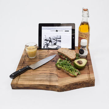 iPad Stand For The Kitchen, Cutting Board Style, Cottage