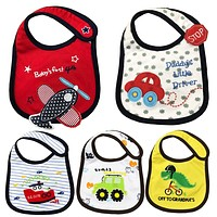 1PCS born Baby Bibs Waterproof Bib Bandana Baberos Bibs For Kids Girls Boys Bib Baby Clothing DS19