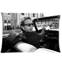 Custom Fashionable James Franco Queen Size Rectangle Pillow Cases 20''*30''(ONE SIDE)