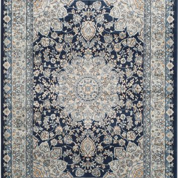 Safavieh Persian Garden PEG605T Light Grey / Blue