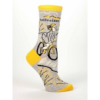 Hellraiser Women's Crew Socks, Hipster/Nerdy/Geeky/Trendy, Quirky Funny Novelty Socks with Cool Design, Bold/Crazy/Unique Dress Socks
