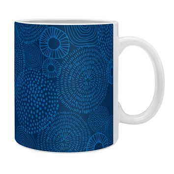 Camilla Foss Circles In Blue I Coffee Mug