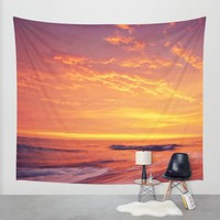 Endless Ocean Contains Everything. Wall Tapestry by Nirvana.K   Society6