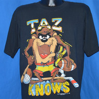 90s Taz Knows Sports Looney Tunes Athletic t-shirt Extra-Large