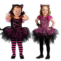 Girls Clothes Dresses Fairy Halloween Party Costume Outfits Party Fancy Dress Up Clothes Girl Kids
