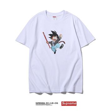 Cotton Couple Summer Anime Dragon Ball T-shirts [1276629450788]