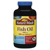 Nature Made Fish Oil Dietary Supplement Softgels - 250 Count