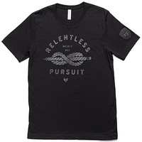 Relentless Pursuit Tee - Black