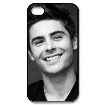 Zac Efron High School Musical Iphone 4/4S Case Plastic Back Case for Iphone 4/4S