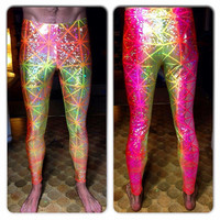 Holographic Leggings / Prism Pants