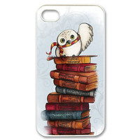 Harry Potter's Owl Hedwig and Books Case for iPhone iTouch